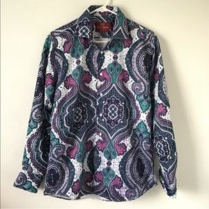 Suslo Couture Master Piece Collection Button Up